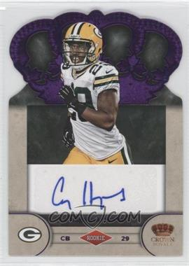 2012 Crown Royale - Rookie Signatures - Purple #13 - Casey Hayward /25