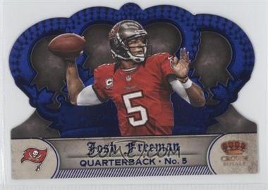2012 Crown Royale Blue #139 - Josh Freeman /5