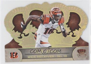 2012 Crown Royale Gold Holo-Foil #12 - A.J. Green /99