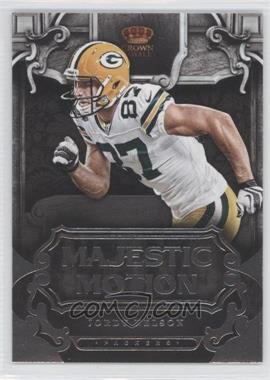2012 Crown Royale Majestic Motion #17 - Jordy Nelson