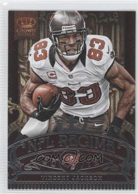 2012 Crown Royale NFL Regime #17 - Vincent Jackson