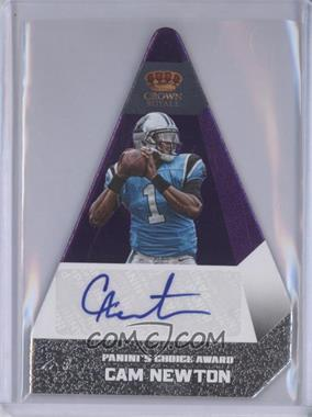 2012 Crown Royale Panini's Choice Signatures Purple #20 - Cam Newton /10