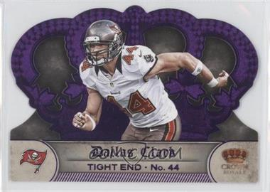2012 Crown Royale Purple #138 - Dallas Clark /25
