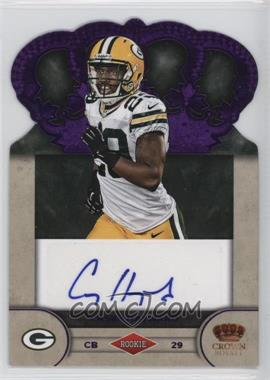 2012 Crown Royale Rookie Signatures Purple #13 - Casey Hayward /25