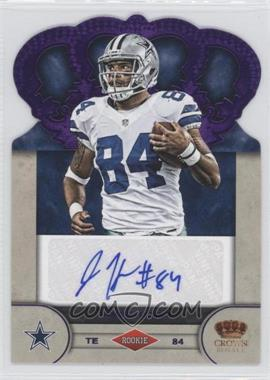 2012 Crown Royale Rookie Signatures Purple #43 - James Hanna /25