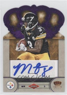 2012 Crown Royale Rookie Signatures Purple #62 - Marquis Maze /25