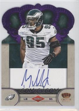 2012 Crown Royale Rookie Signatures Purple #71 - Mychal Kendricks /25