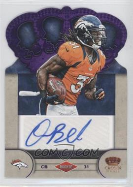 2012 Crown Royale Rookie Signatures Purple #75 - Omar Bolden /25