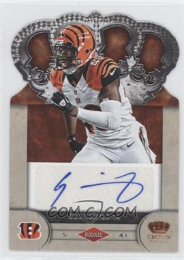 2012 Crown Royale Rookie Signatures #38 - George Iloka /245