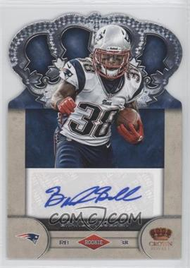 2012 Crown Royale Rookie Signatures #96 - Brandon Bolden /99