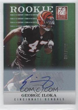 2012 Elite - [Base] - Turn of the Century Rookie Signatures [Autographed] #149 - George Iloka /699