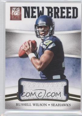 2012 Elite - New Breed Jerseys #25 - Russell Wilson /399