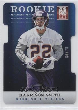 2012 Elite Aspirations Die-Cut #197 - Harrison Smith /78