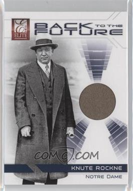2012 Elite Back to the Future Materials #3 - Knute Rockne /199