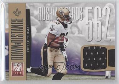 2012 Elite Down & Distance Materials #27 - Pierre Thomas /299