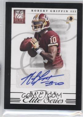 2012 Elite Elite Series Rookies Signatures [Autographed] #2 - Robert Griffin III /99