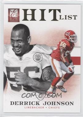 2012 Elite Hit List Gold #17 - Derrick Johnson /149