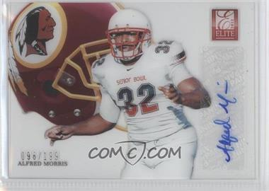 2012 Elite Rookie Hard Hats Signatures [Autographed] #57 - Alfred Morris /199
