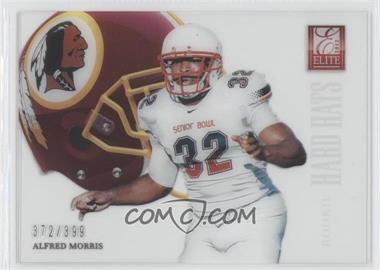 2012 Elite Rookie Hard Hats #57 - Alfred Morris /399