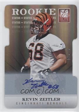 2012 Elite Status Die-Cut Signatures [Autographed] #194 - Kevin Zeitler /24