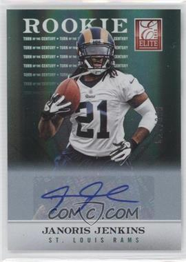 2012 Elite Turn of the Century Rookie Signatures [Autographed] #115 - Janoris Jenkins /399