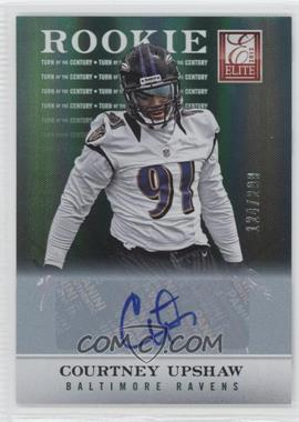 2012 Elite Turn of the Century Rookie Signatures [Autographed] #121 - Courtney Upshaw /299