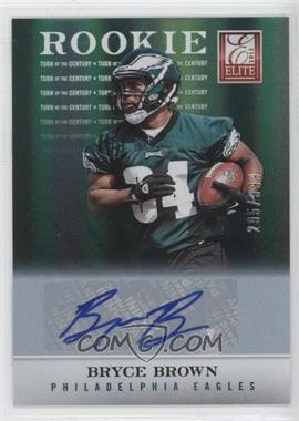 2012 Elite Turn of the Century Rookie Signatures [Autographed] #177 - Bryce Brown /399