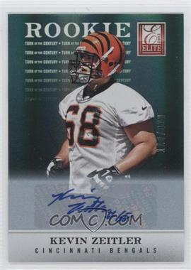 2012 Elite Turn of the Century Rookie Signatures [Autographed] #194 - Kevin Zeitler /399