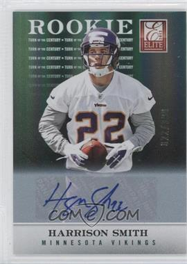 2012 Elite Turn of the Century Rookie Signatures [Autographed] #197 - Harrison Smith /399