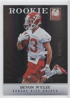 2012 Elite #191 - Devon Wylie /999