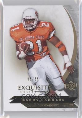2012 Exquisite Collection - [Base] #11 - Barry Sanders /85