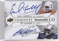 Earl Campbell, Bo Jackson /30