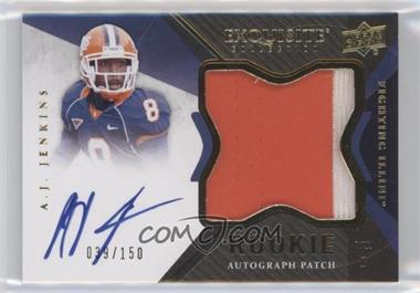 2012 Exquisite Collection #124 - A.J. Jenkins /150