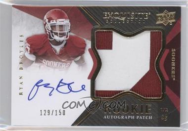 2012 Exquisite Collection #136 - Ryan Broyles /150