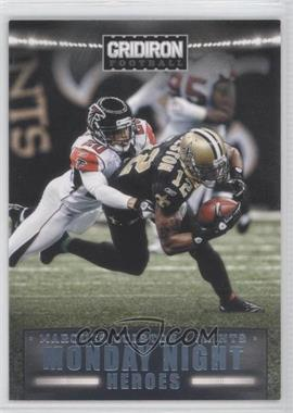 2012 Gridiron Monday Night Heroes Platinum #24 - Marques Colston /25