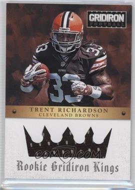2012 Gridiron Rookie Gridiron Kings Materials [Memorabilia] #3 - Trent Richardson /299
