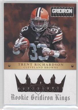 2012 Gridiron Rookie Gridiron Kings Materials [Memorabilia] #3 - Trent Richardson /299