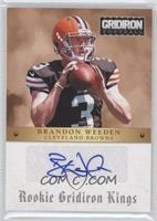 Brandon Weeden /99