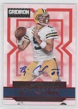 2012 Gridiron Rookie Signatures Xs [Autographed] #204 - B.J. Coleman /99