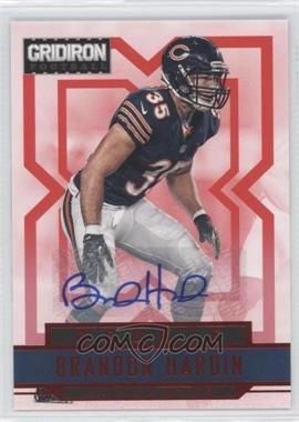 2012 Gridiron Rookie Signatures Xs [Autographed] #208 - Brandon Hardin /499