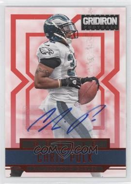 2012 Gridiron Rookie Signatures Xs [Autographed] #216 - Chris Polk /499