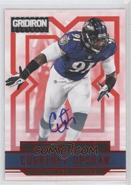 2012 Gridiron Rookie Signatures Xs [Autographed] #220 - Courtney Upshaw /499