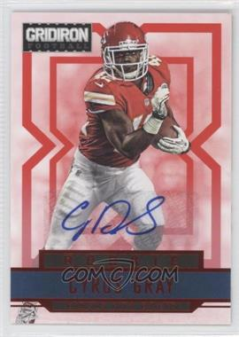 2012 Gridiron Rookie Signatures Xs [Autographed] #221 - Cyrus Gray /499