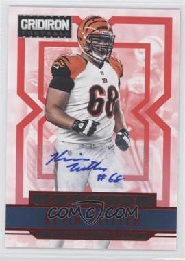 2012 Gridiron Rookie Signatures Xs [Autographed] #254 - Kevin Zeitler /499