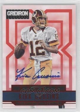 2012 Gridiron Rookie Signatures Xs [Autographed] #255 - Kirk Cousins /499