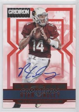 2012 Gridiron Rookie Signatures Xs [Autographed] #282 - Ryan Lindley /499