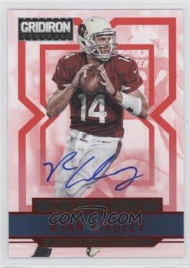 2012 Gridiron Rookie Signatures Xs [Autographed] #282 - Ryan Lindley /499