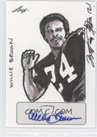 Brian Kong, Willie Brown /1