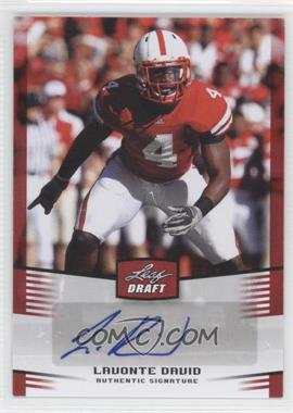 2012 Leaf Draft Autographs Red #LD1 - Lavonte David