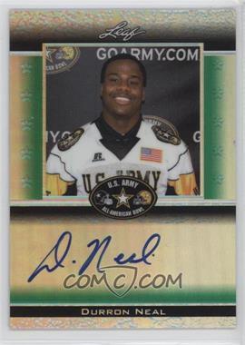 2012 Leaf Metal Draft - Army All-American Bowl - Green Prismatic #ATA-DN1 - Durron Neal /25